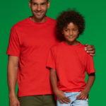 JN019 Kinder T-Shirt Tomato