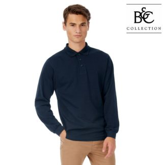 BCPU414 Image1 Langarm Poloshirt für Herren