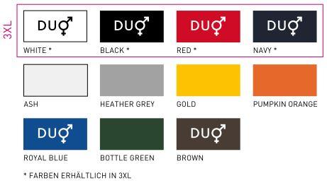 BCPU414 Textilfarben Langarm Poloshirt für Herren
