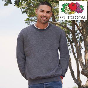 F324-Imageq Herren Pullover und Sweatshirt von Fruit of the Loom zum Bedrucken, Besticken und Beflocken
