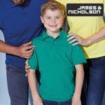 JN070K Kinder Poloshirt