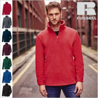 Z8740 Half Zip Fleece Pullover der Textilmarke Russell