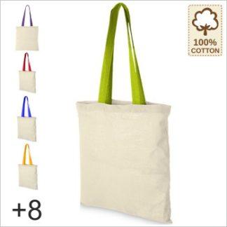 NT110N Einkaufstasche farbige Henkel