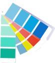 Druckfarben Farbfächer