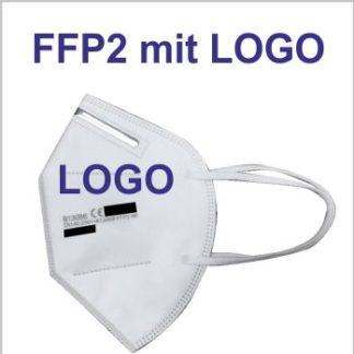 FFP2 Atemschutz Maske mit Logo bedrucken