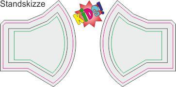 MAP388K Kinder Druckstandskizze