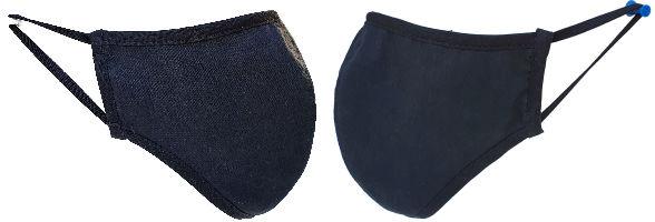 MAZ4 Baumwolle Gesichtschutz Maske Passform