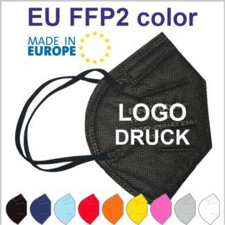 Farbige FFP2 Masken aus Europa zum Bedrucken