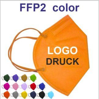 FFP2 CN farbige Masken bedrucken